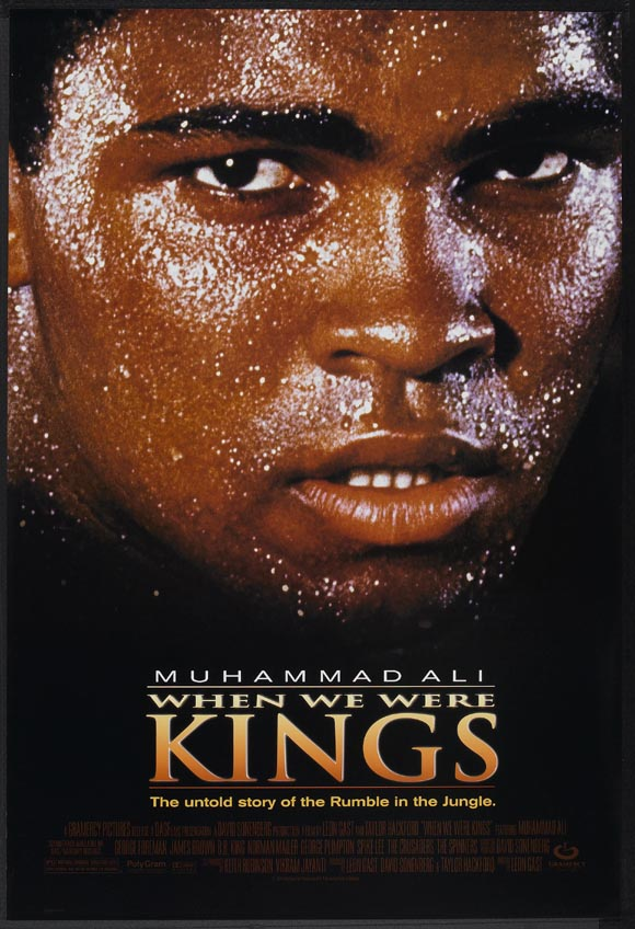 WHEN WE WERE KINGS @ FilmPosters.com
