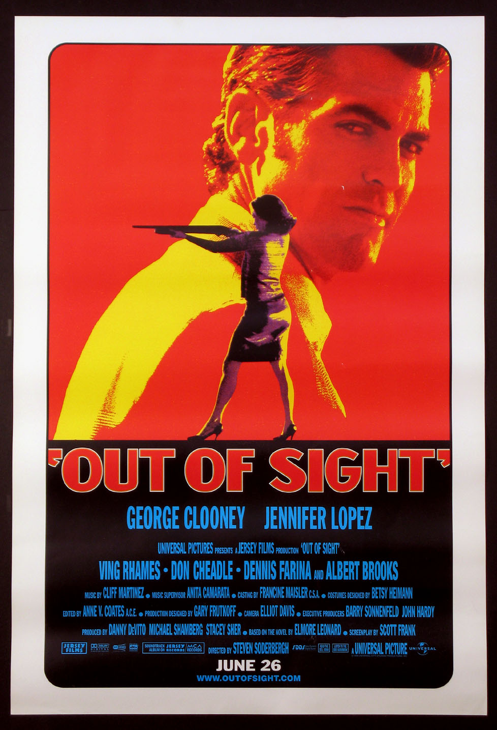 OUT OF SIGHT @ FilmPosters.com