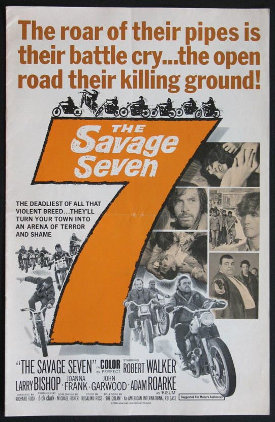 SAVAGE 7 (The Savage Seven) @ FilmPosters.com