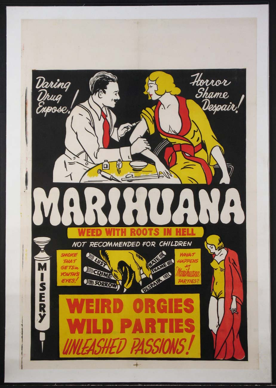 MARIHUANA, WEED WITH ROOTS IN HELL @ FilmPosters.com
