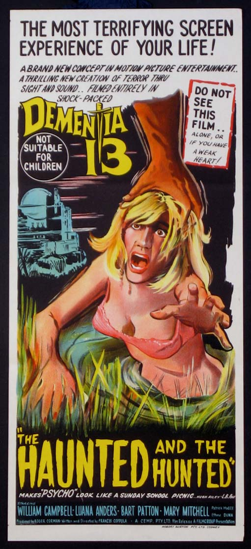 DEMENTIA 13 (aka The Haunted and the Hunted) @ FilmPosters.com