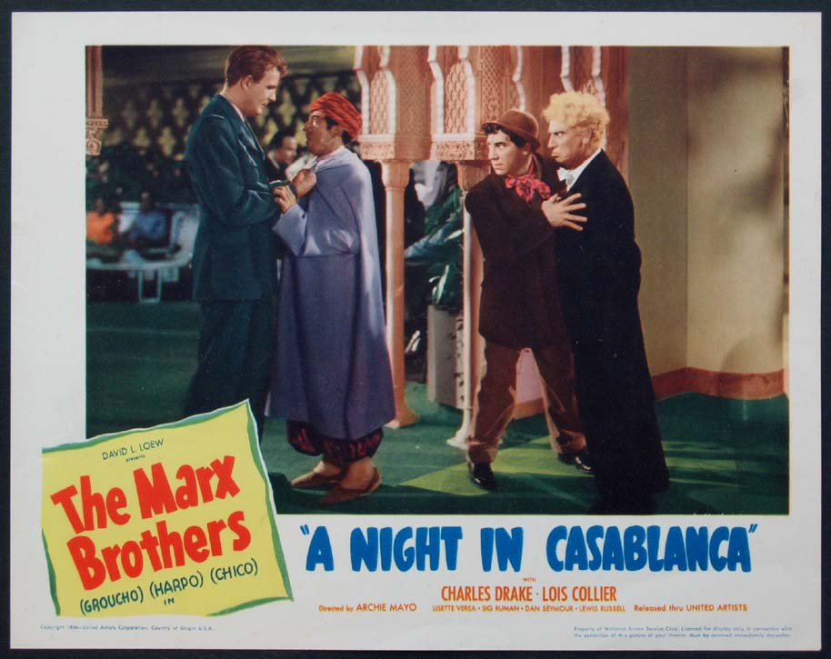 NIGHT IN CASABLANCA, A @ FilmPosters.com