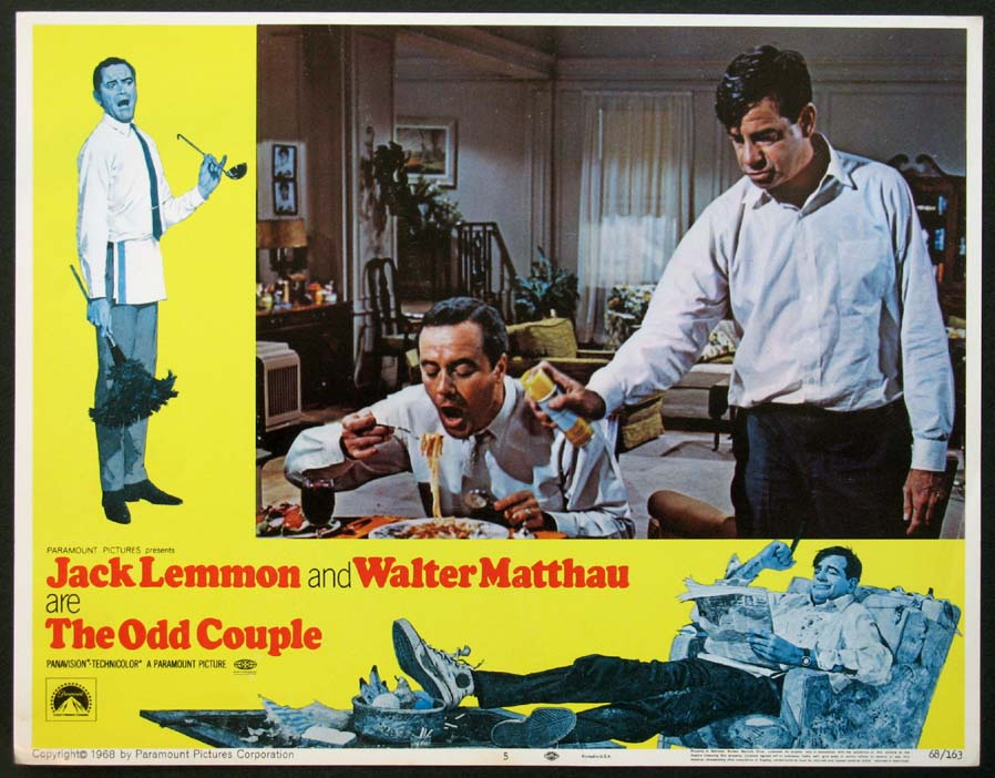 ODD COUPLE, THE (The Odd Couple) @ FilmPosters.com
