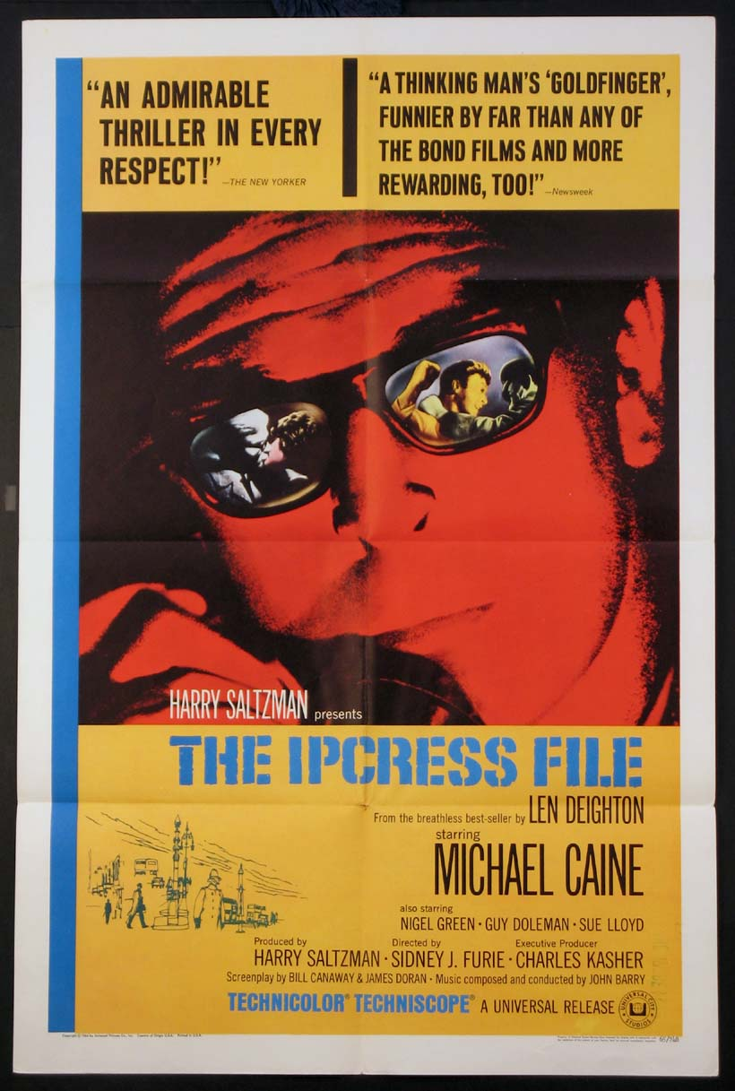 IPCRESS FILE, THE (The Ipcress File) @ FilmPosters.com
