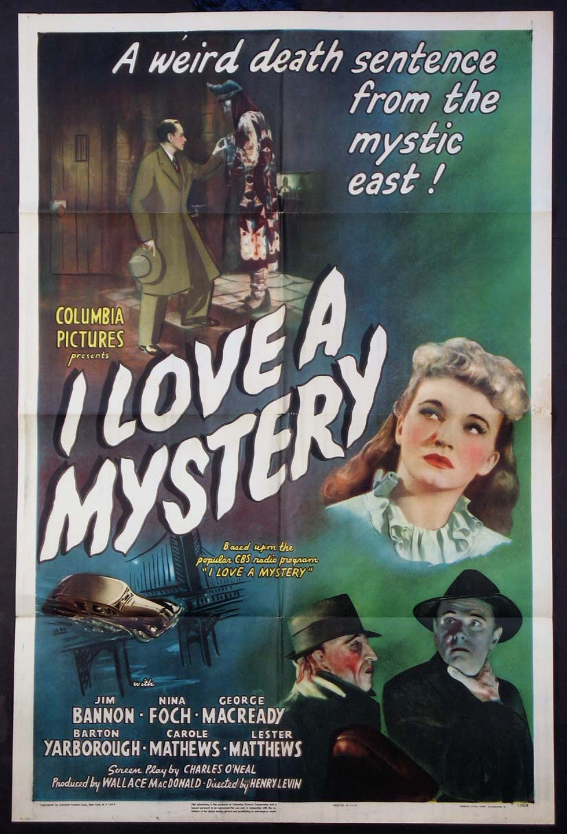 I LOVE A MYSTERY @ FilmPosters.com