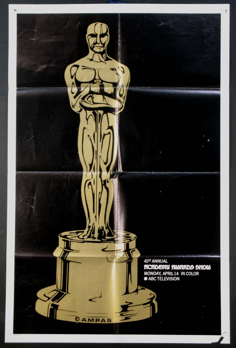 ACADEMY AWARDS, 41th Annual (Oscar) @ FilmPosters.com