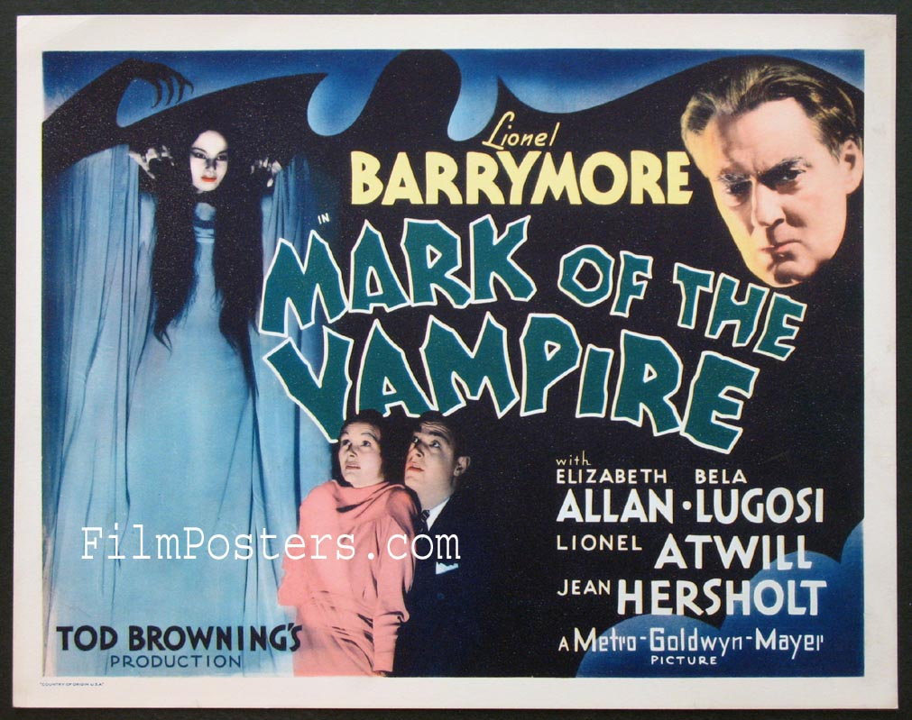 MARK OF THE VAMPIRE @ FilmPosters.com