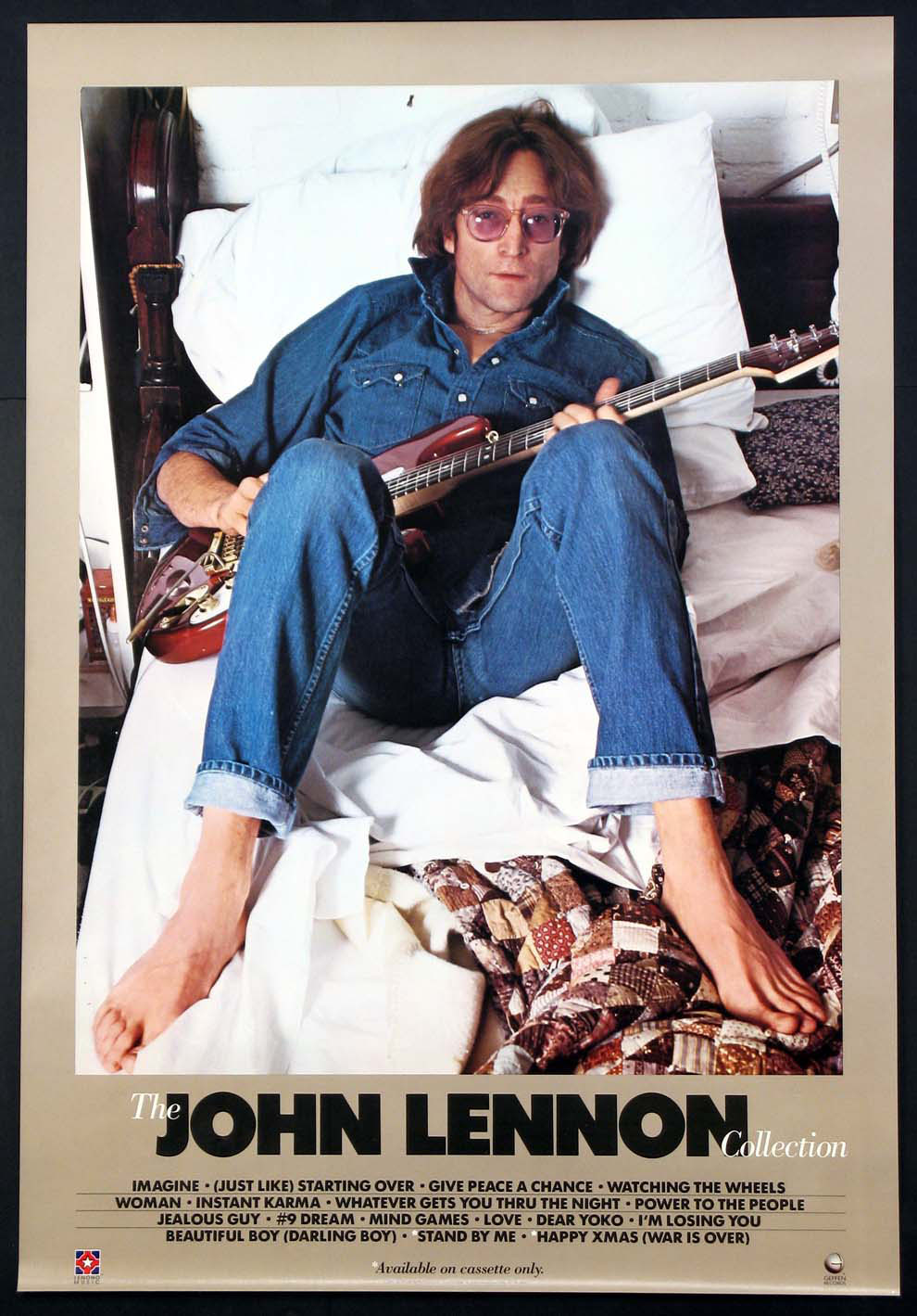 JOHN LENNON COLLECTION ALBUM ORIGINAL PROMOTIONAL POSTER @ FilmPosters.com