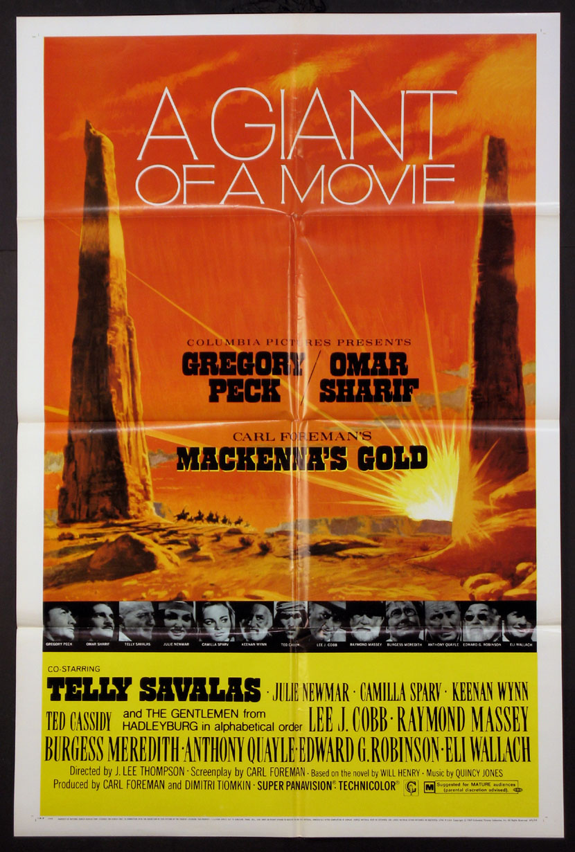 MACKENNA'S GOLD @ FilmPosters.com