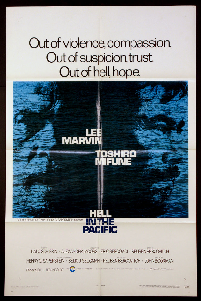 HELL IN THE PACIFIC @ FilmPosters.com