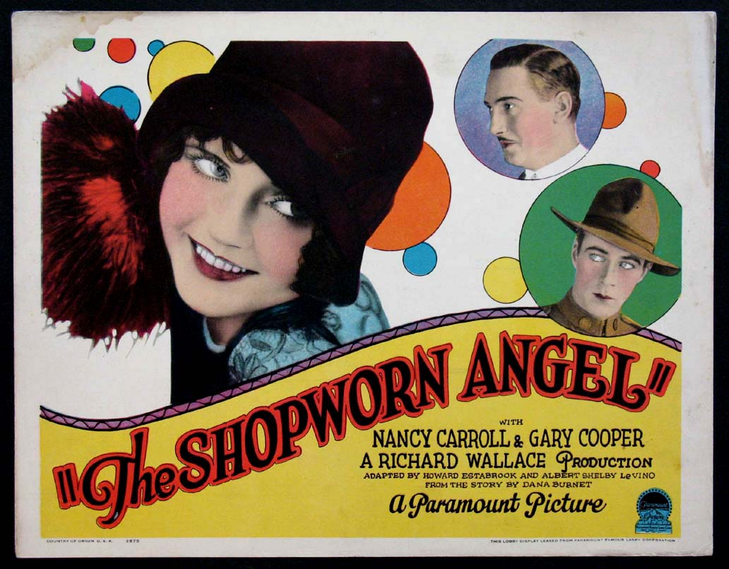 SHOPWORN ANGEL, THE @ FilmPosters.com