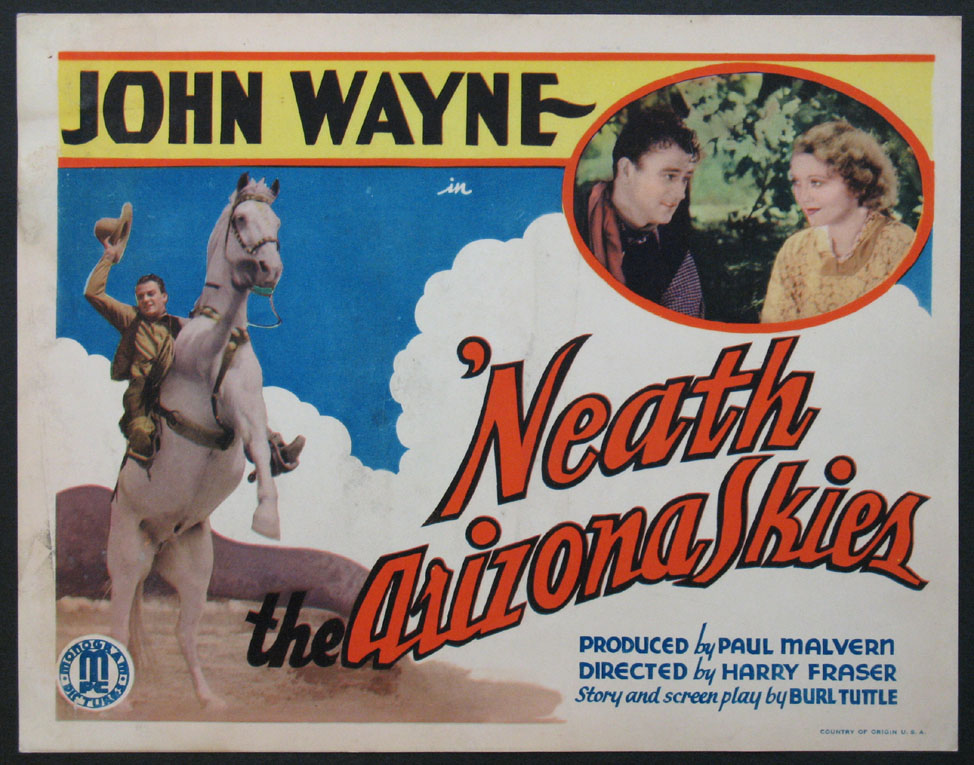 NEATH THE ARIZONA SKIES @ FilmPosters.com