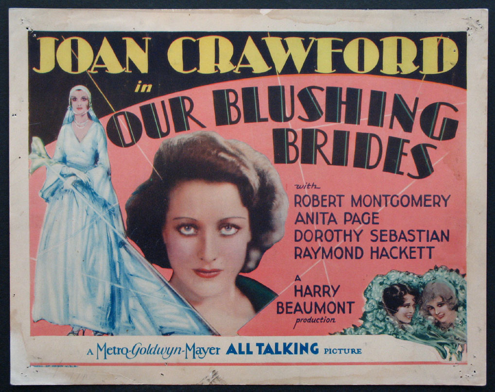 OUR BLUSHING BRIDES @ FilmPosters.com