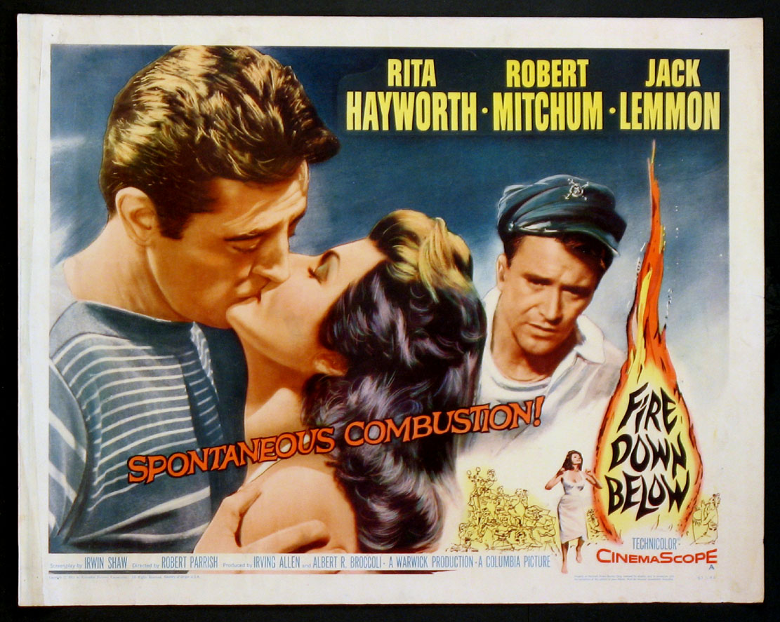 FIRE DOWN BELOW @ FilmPosters.com