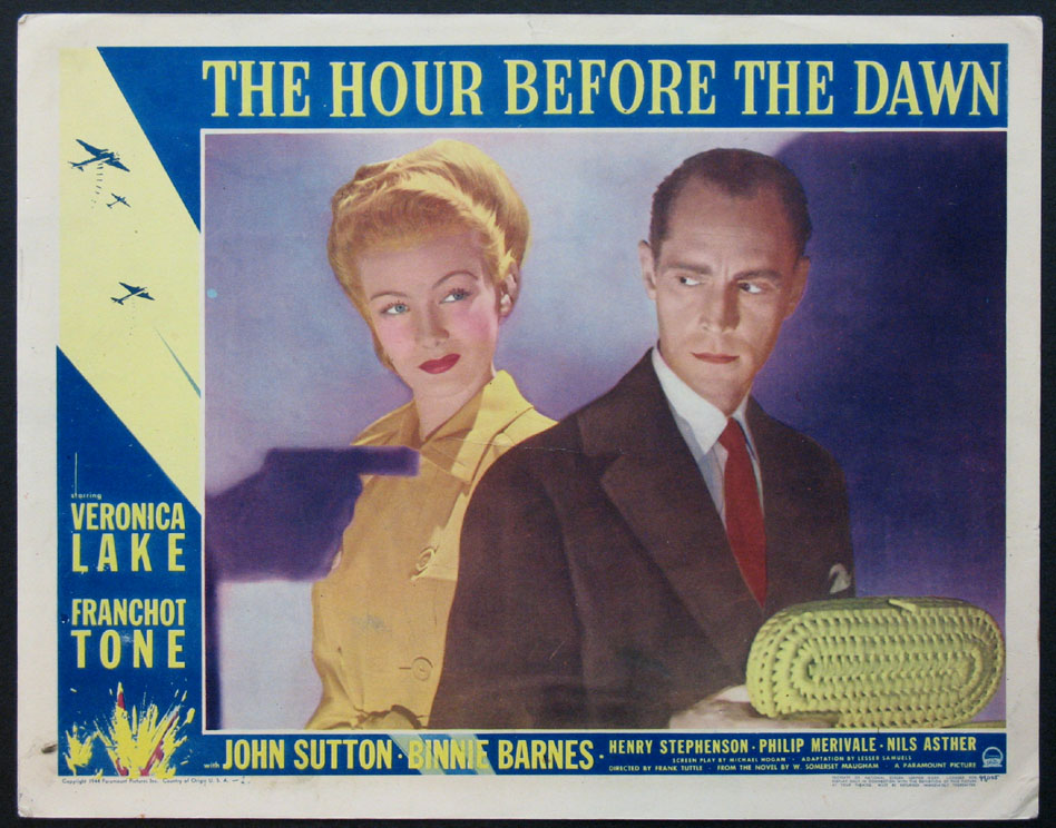 HOUR BEFORE THE DAWN, THE @ FilmPosters.com