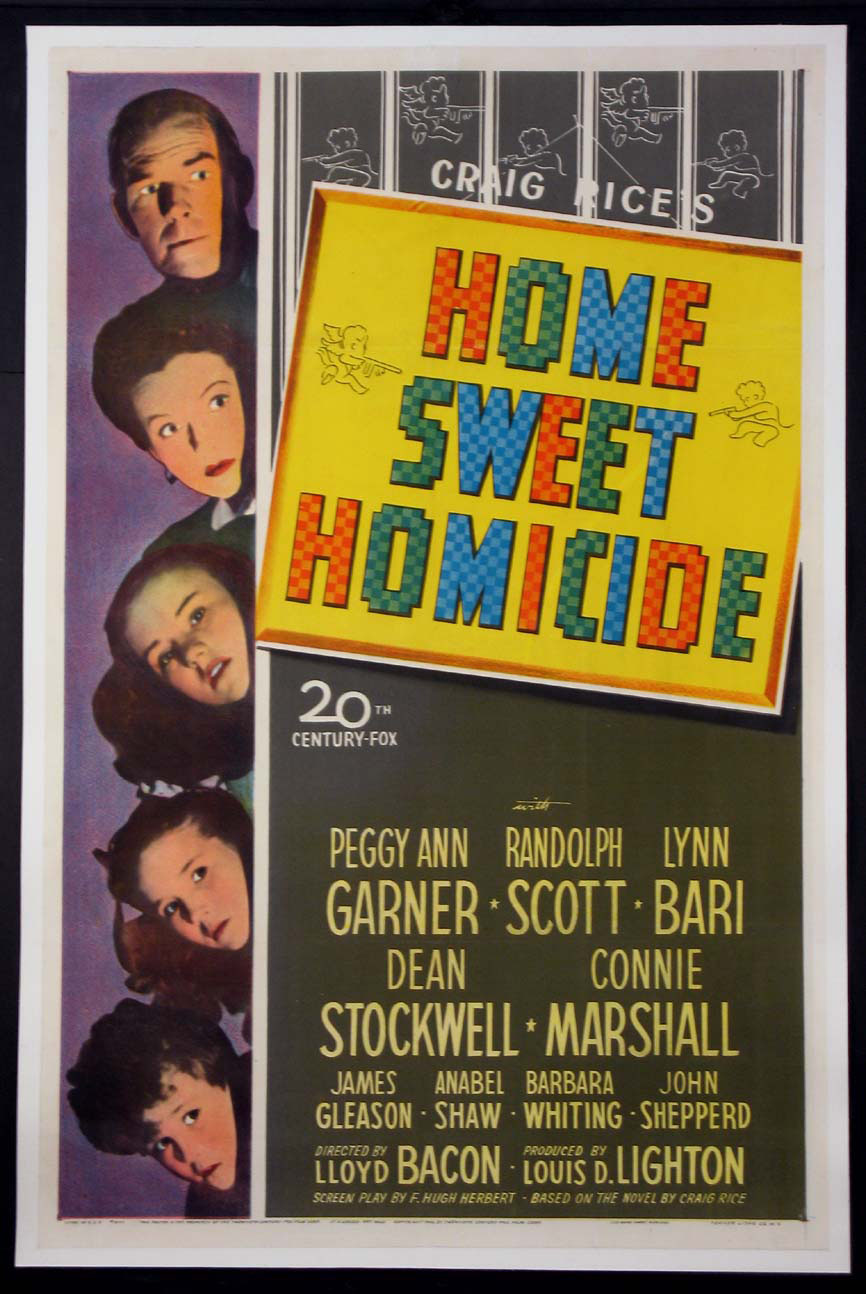 HOME SWEET HOMICIDE @ FilmPosters.com