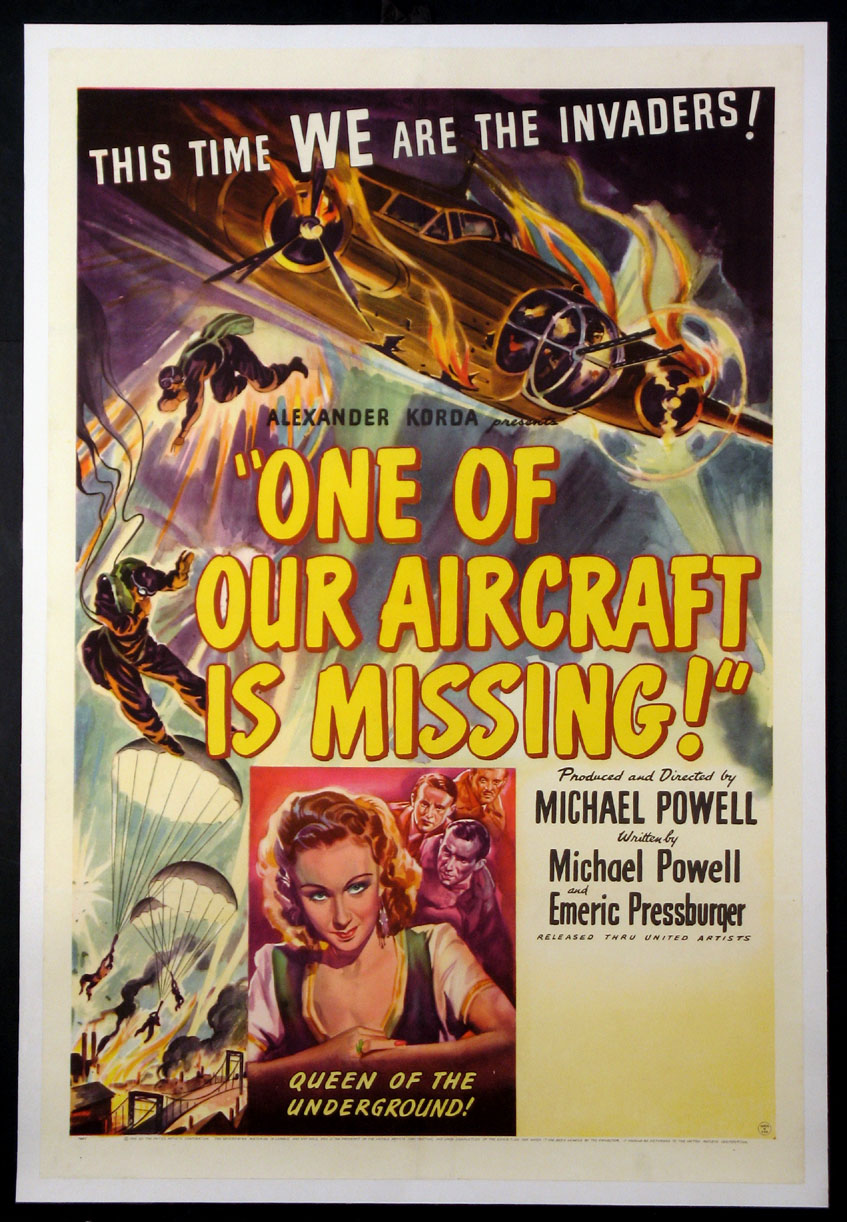 ONE OF OUR AIRCRAFT IS MISSING @ FilmPosters.com