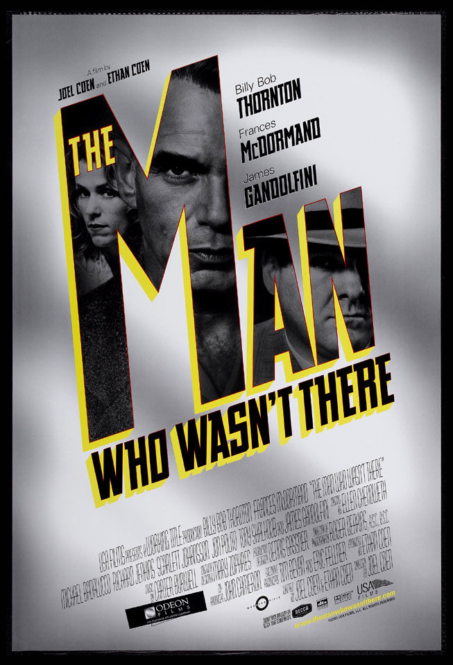MAN WHO WASN'T THERE, THE @ FilmPosters.com