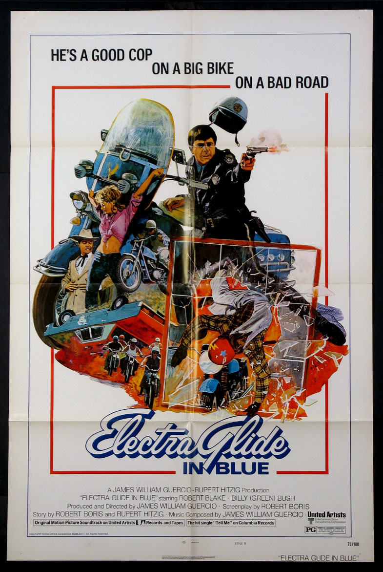 ELECTRA GLIDE IN BLUE @ FilmPosters.com