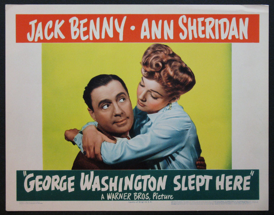 GEORGE WASHINGTON SLEPT HERE @ FilmPosters.com