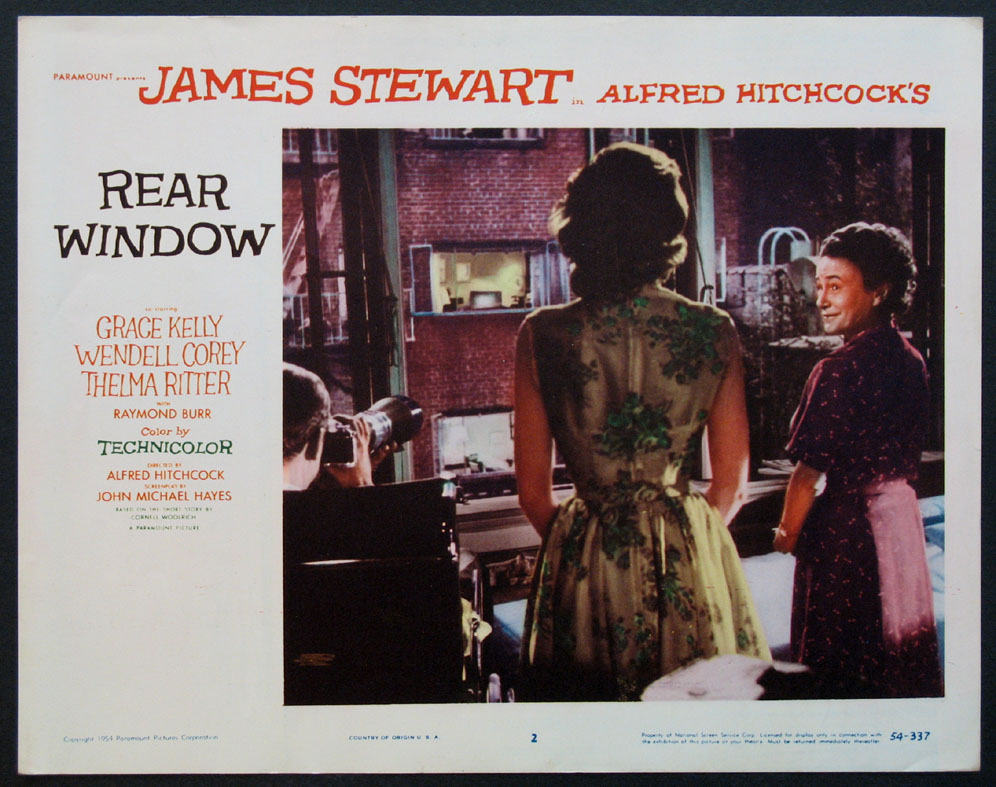 REAR WINDOW @ FilmPosters.com