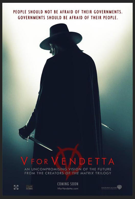 V FOR VENDETTA @ FilmPosters.com