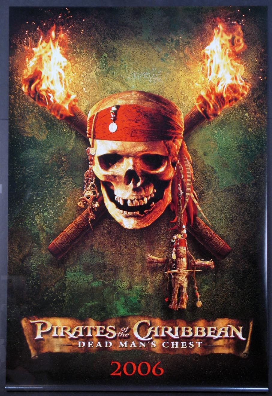 PIRATES OF THE CARIBBEAN: DEAD MAN'S CHEST @ FilmPosters.com