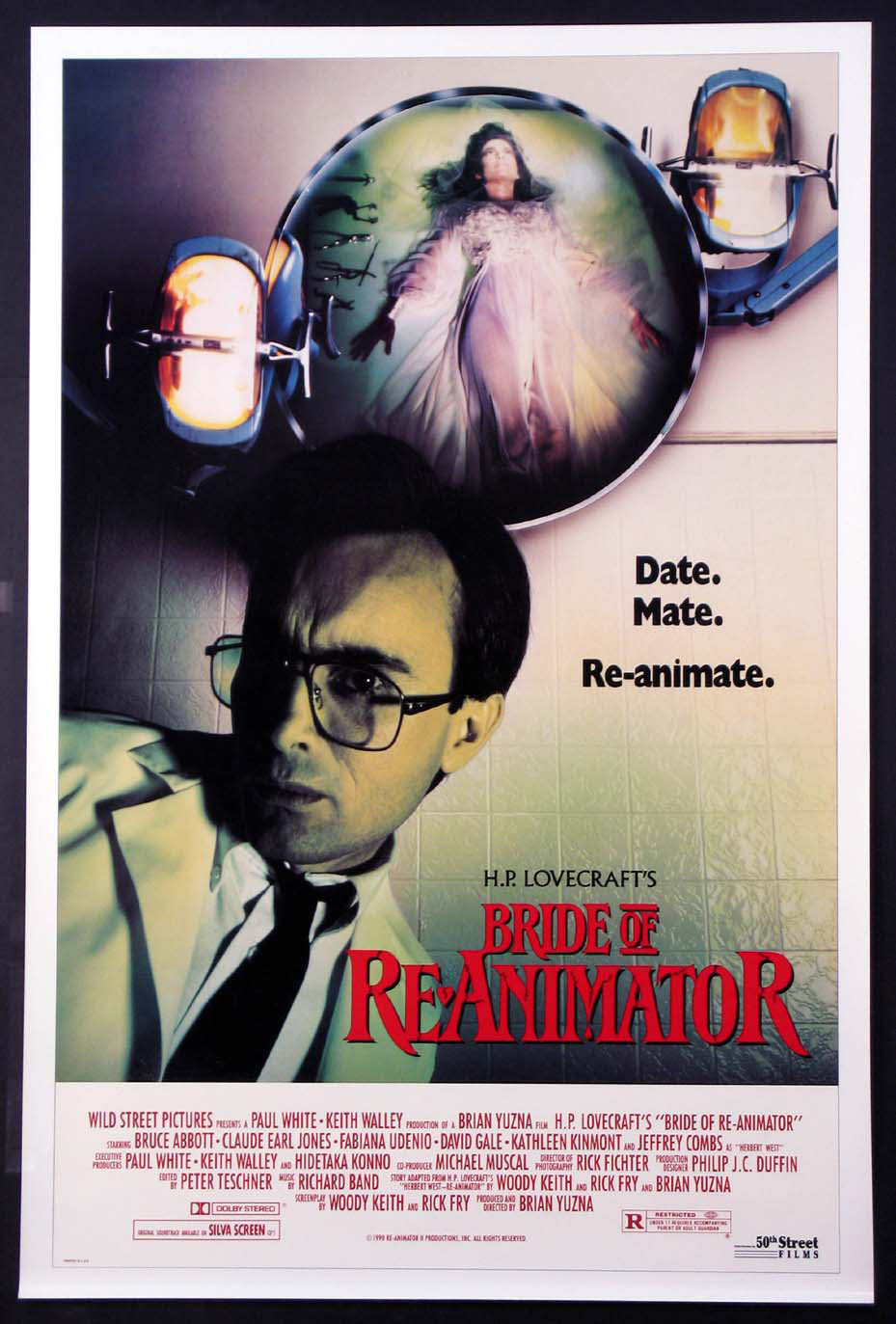BRIDE OF RE-ANIMATOR (Reanimator) @ FilmPosters.com