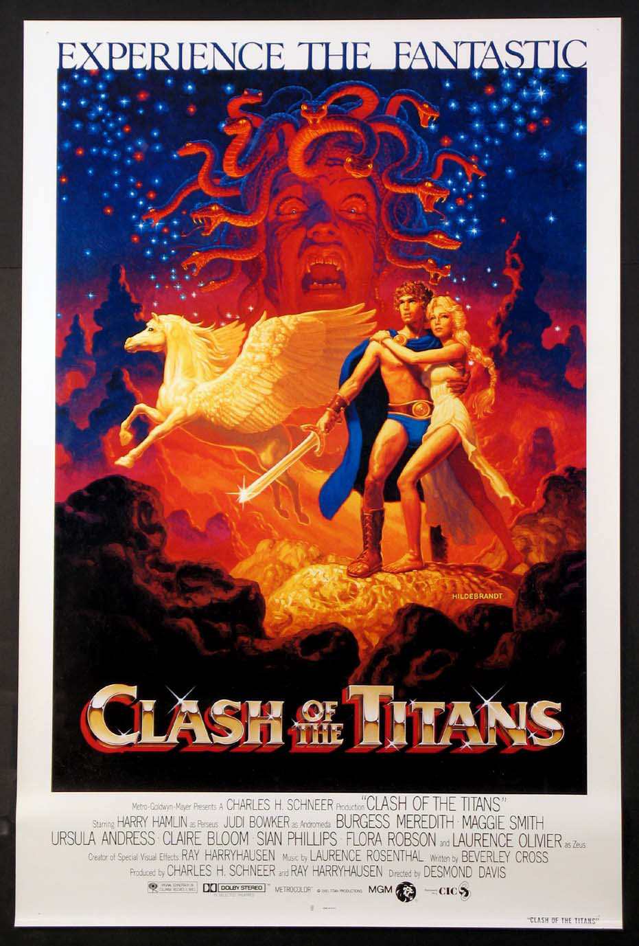 CLASH OF THE TITANS @ FilmPosters.com