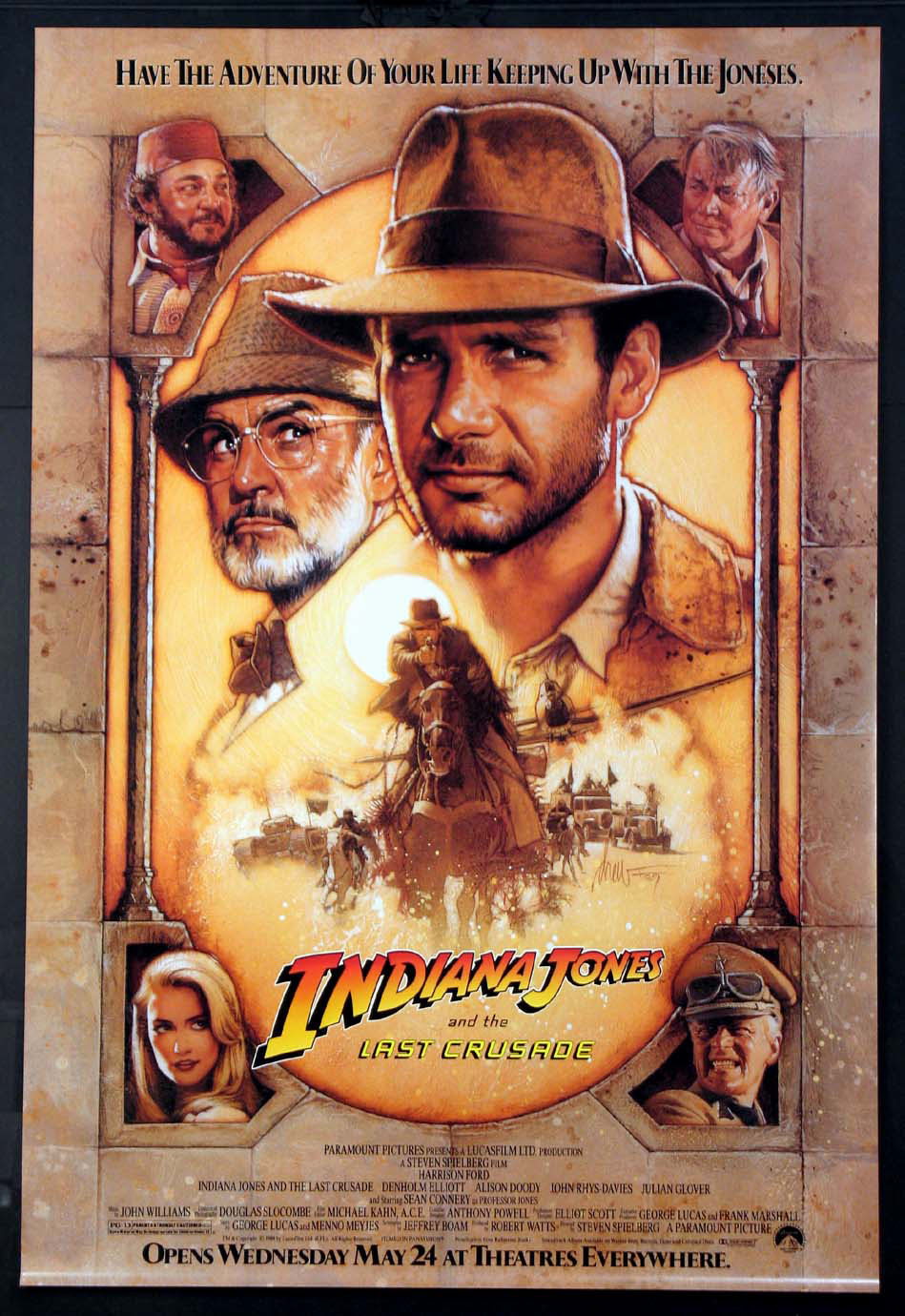 INDIANA JONES AND THE LAST CRUSADE @ FilmPosters.com