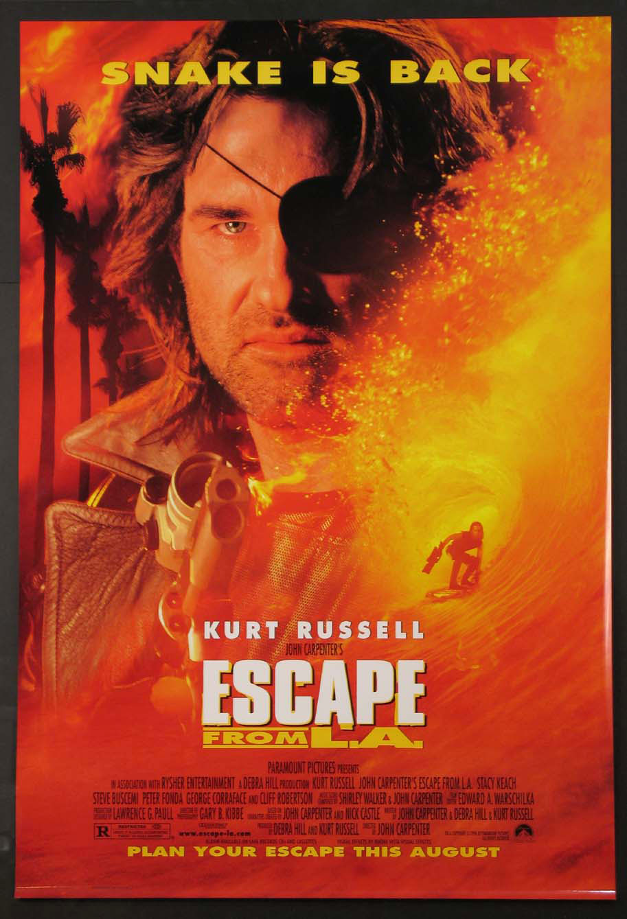 ESCAPE FROM L.A. @ FilmPosters.com