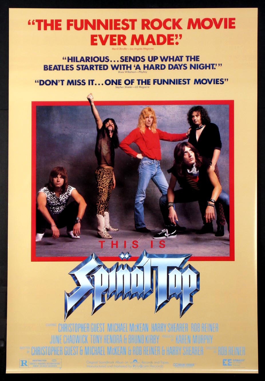 THIS IS SPINAL TAP @ FilmPosters.com