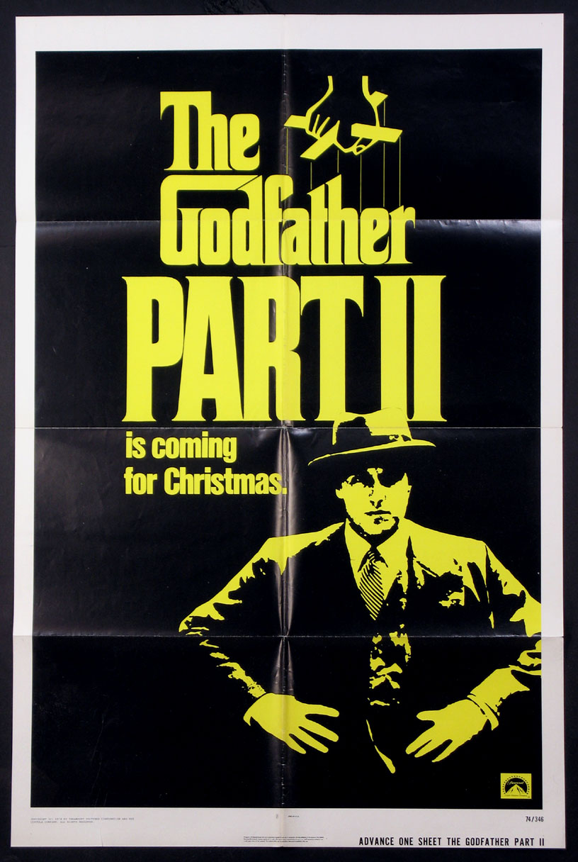 GODFATHER PART II, THE (The Godfather Part 2) @ FilmPosters.com