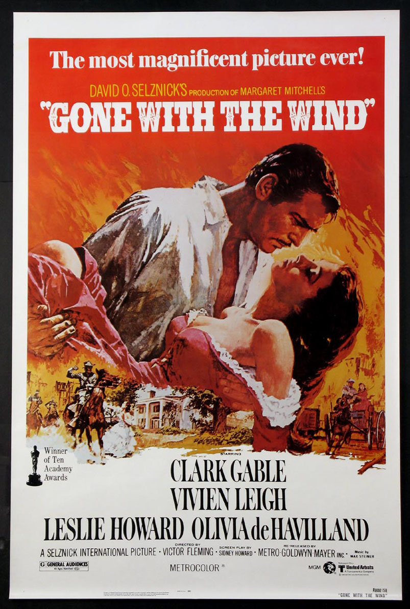 GONE WITH THE WIND @ FilmPosters.com