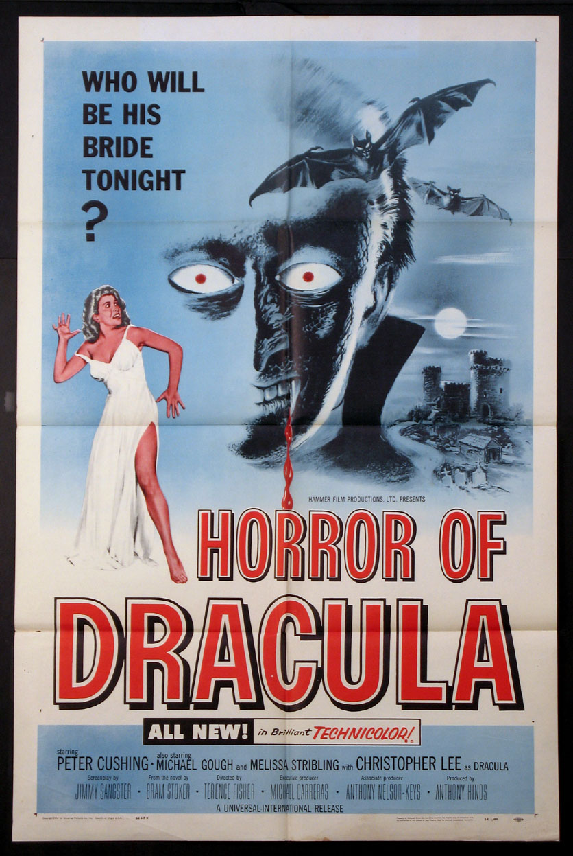 HORROR OF DRACULA @ FilmPosters.com