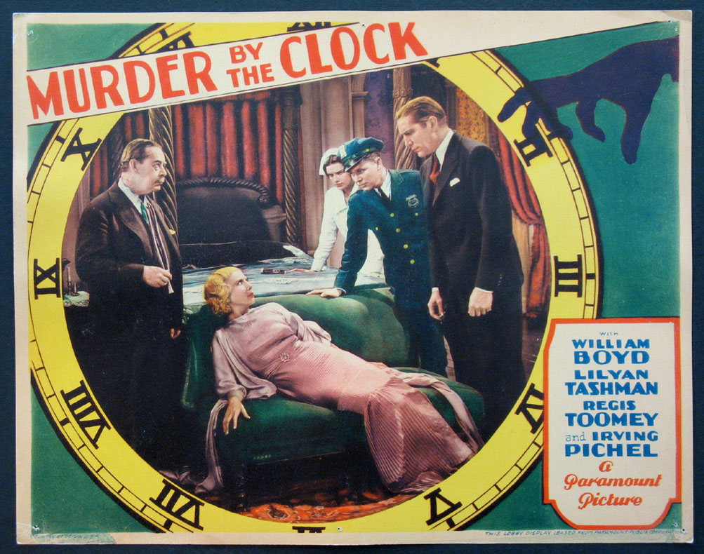 MURDER BY THE CLOCK @ FilmPosters.com