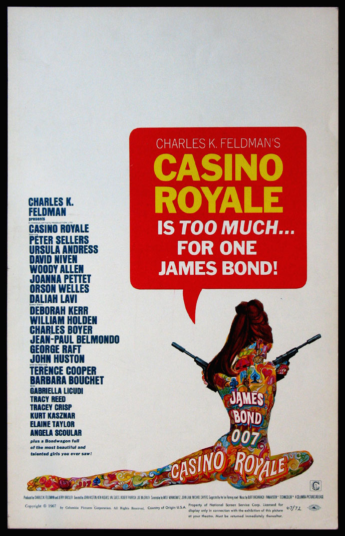 CASINO ROYALE (James Bond) @ FilmPosters.com