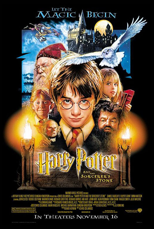 HARRY POTTER AND THE SORCERER'S STONE @ FilmPosters.com