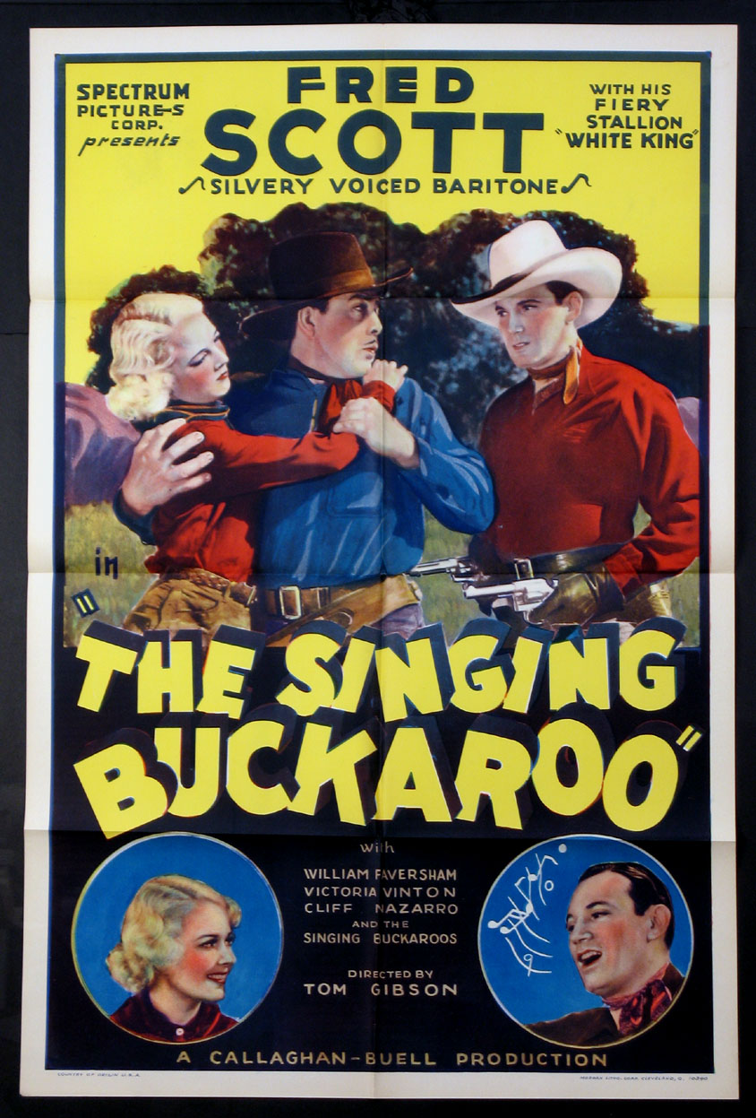 SINGING BUCKAROO, THE @ FilmPosters.com