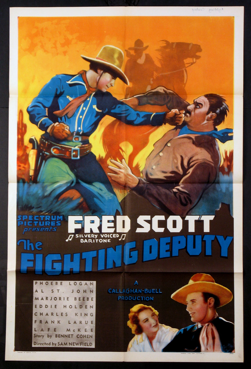 FIGHTING DEPUTY, THE @ FilmPosters.com