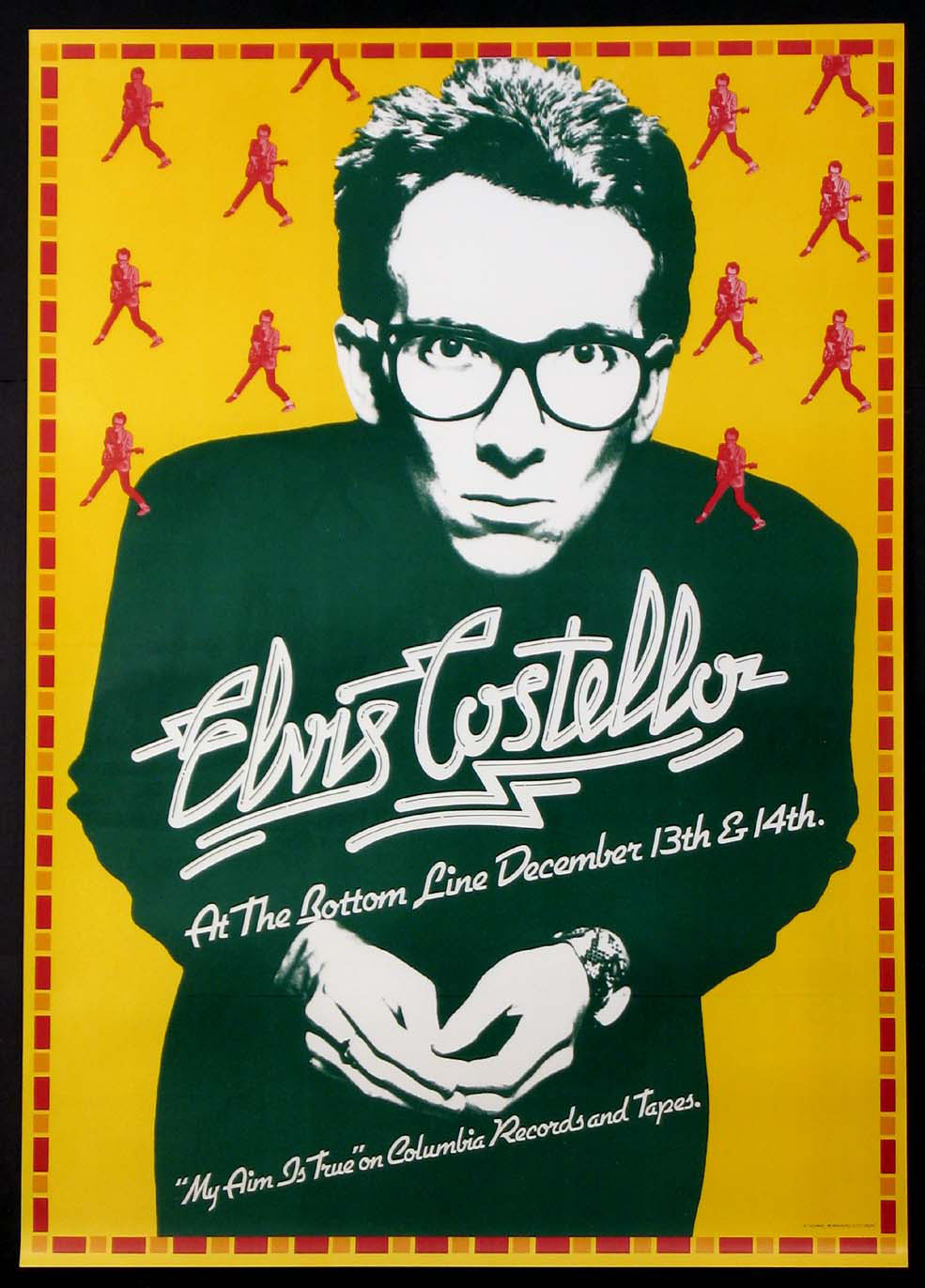 ELVIS COSTELLO MY AIM IS TRUE VINTAGE TOUR POSTER @ FilmPosters.com