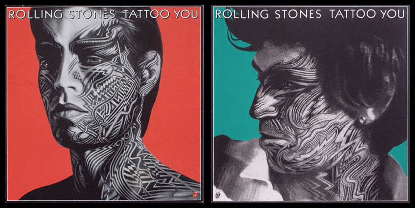 ROLLING STONES TATTOO YOU ORIGINAL PROMOTIONAL POSTERS @ FilmPosters.com
