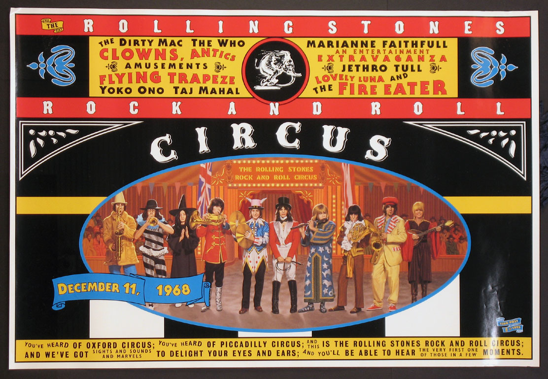 ROLLING STONES ROCK AND ROLL CIRCUS @ FilmPosters.com