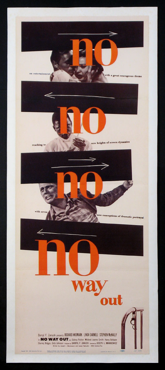 NO WAY OUT @ FilmPosters.com