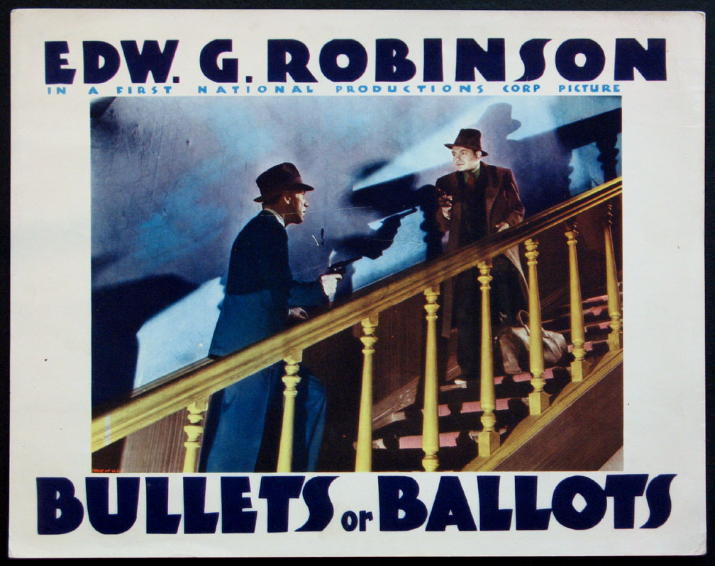 BULLETS OR BALLOTS @ FilmPosters.com