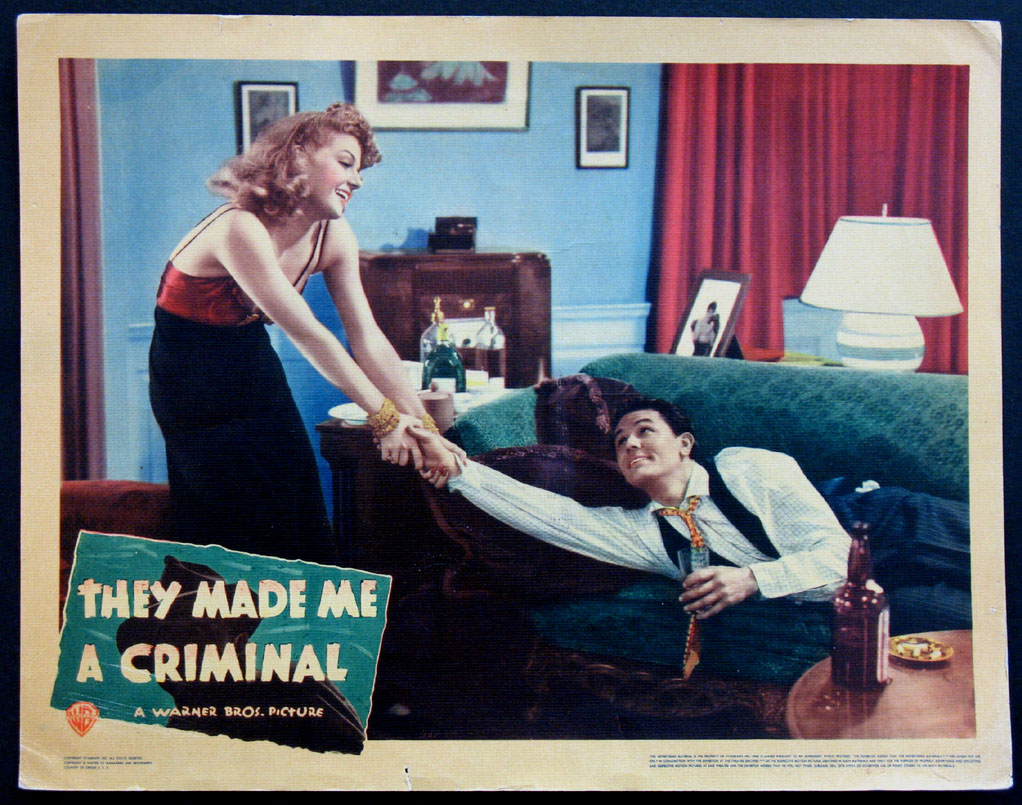 THEY MADE ME A CRIMINAL @ FilmPosters.com