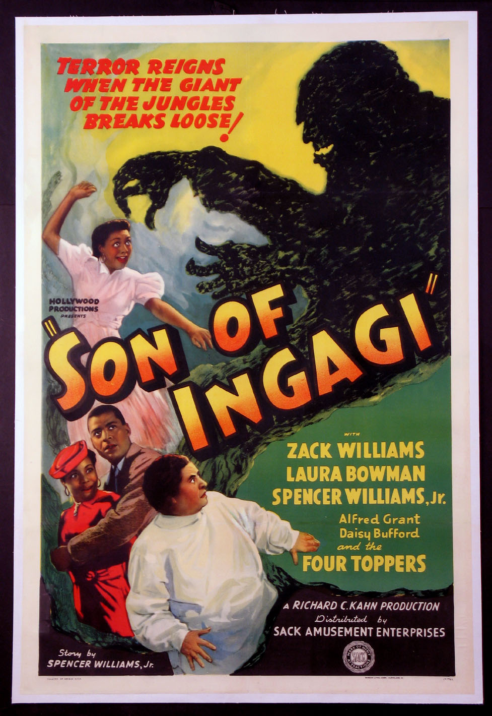 SON OF INGAGI @ FilmPosters.com