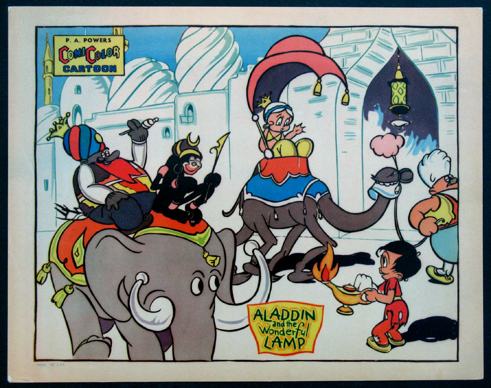 ALADDIN AND THE WONDERFUL LAMP @ FilmPosters.com