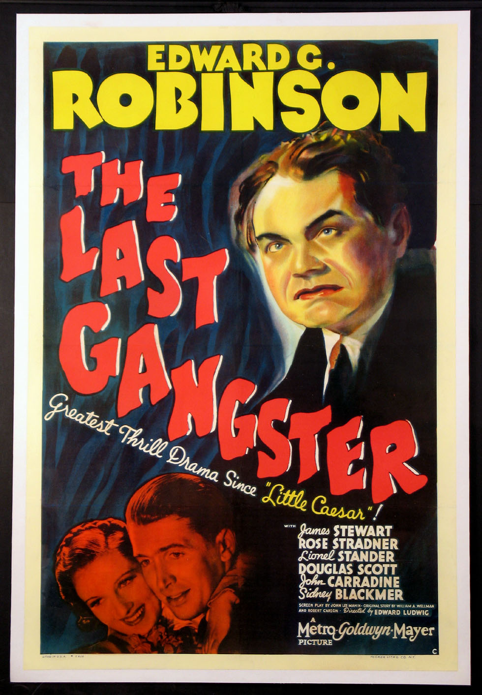 LAST GANGSTER, THE @ FilmPosters.com