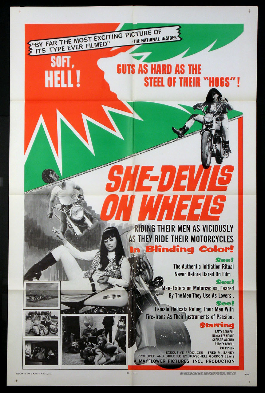 SHE-DEVILS ON WHEEL @ FilmPosters.com